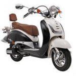 Retro scooter